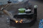 Stolen Rabbit Stew cooking