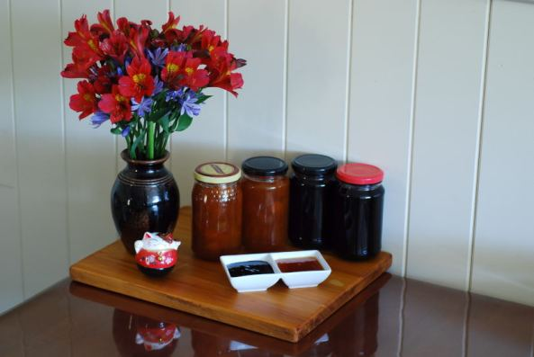 Elderberry jam & Apricot, Chilly n Yellow plum jam